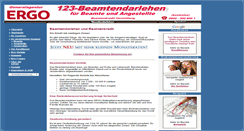 Preview of 123-beamtendarlehen.de